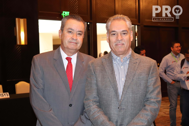 Héctor Sada y Genaro Chávez