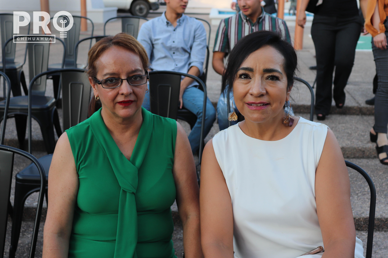 Rosario Martín del Campo y María Teresa Talavera