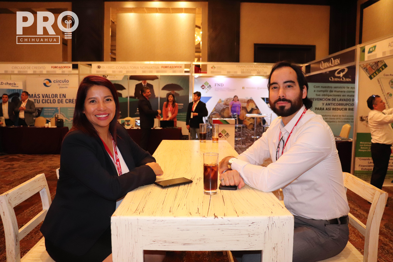 Laura Páramo y Roberto Porras