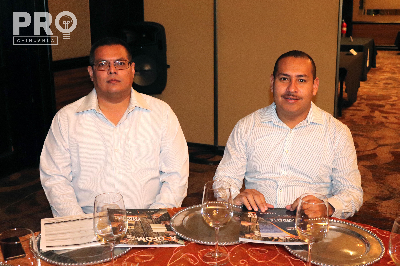 Luis Carlos Villavicencio y Diego Sánchez
