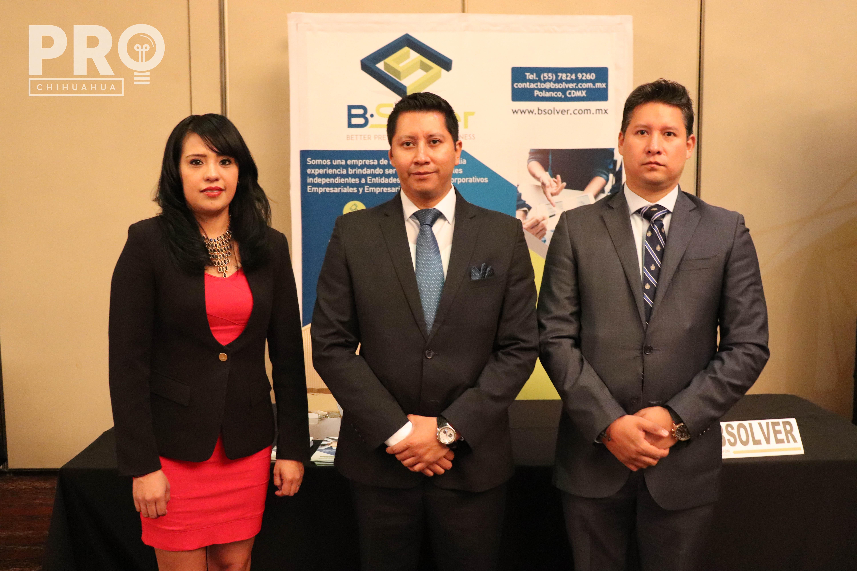 Berenice Trujillo, Noé González y Quetzalcóatl González