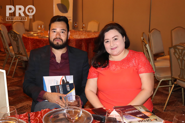 Misael Sánchez y Dulce Rodríguez
