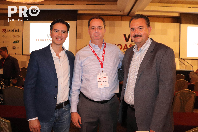 Josué Hinojos, Efraín Antillón y René López
