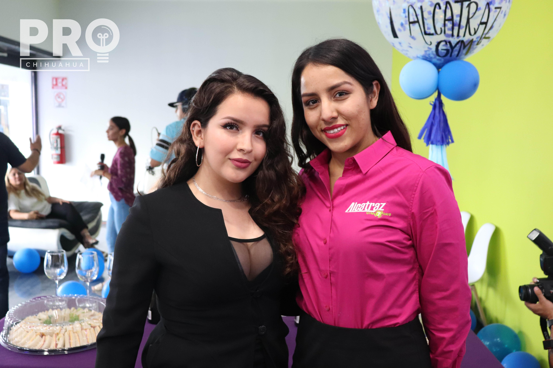 Michelle Ramírez y Sandra Carrillo