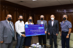 Dona Municipio más de 358 mil pesos a Cruz Roja