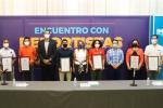 Reciben 40 mil pesos chihuahuenses que participaron en juegos Olímpicos y Paralímpicos
