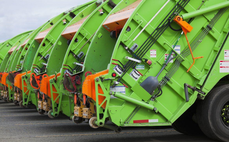 Seattle, Washington, United States,Garbage Truck Fleet